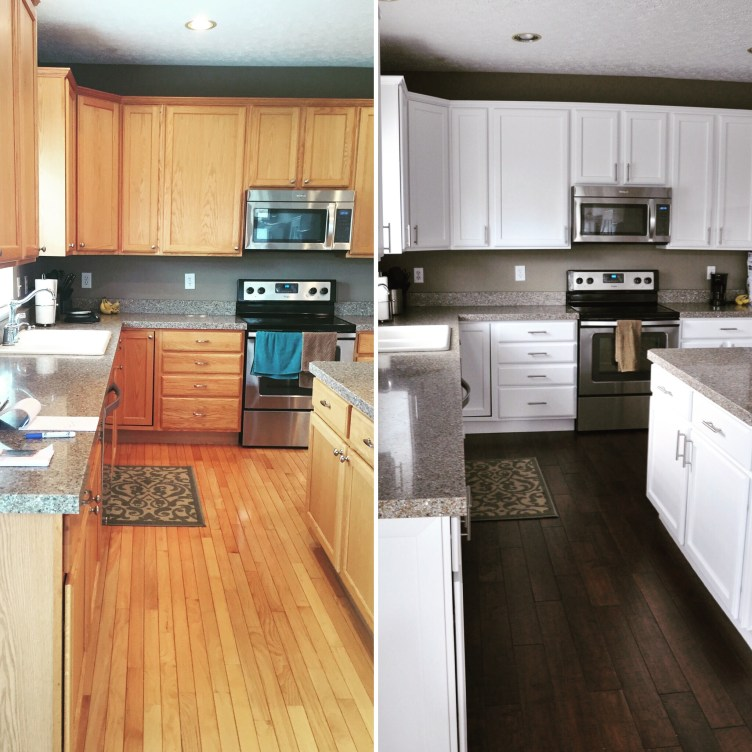 Kitchen Cabinets Painting, Refinishing, Restoration, and Refacing